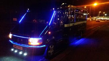 party bus hire Middlesbrough, Newcastle, Sunderland, Durham, Hartlepool, Redcar, Whibty, York. Prom vehicles and limo's.