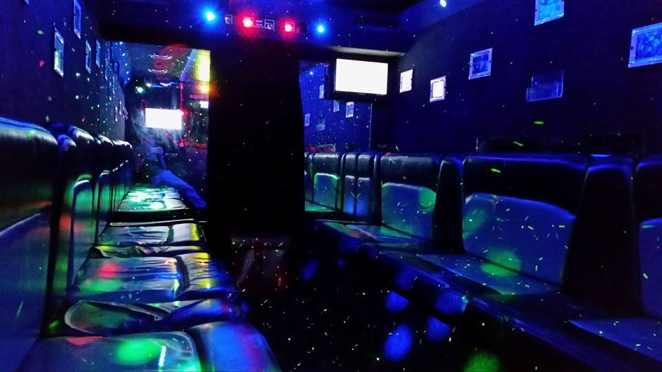 party bus, limo bus, hen night ideas, stag night ideas, party bus north east