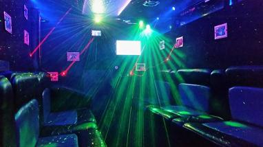 Party bus hire Darlington, party bus hire Newcastle