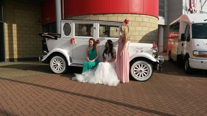 vintage wedding car hire Middlesbrough and Cleveland.