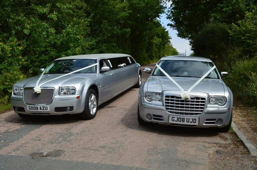Wedding cars and limousines for hire in Middlesbrough, Redcar, Stockton, Hartlepool, Darlington, and the north east